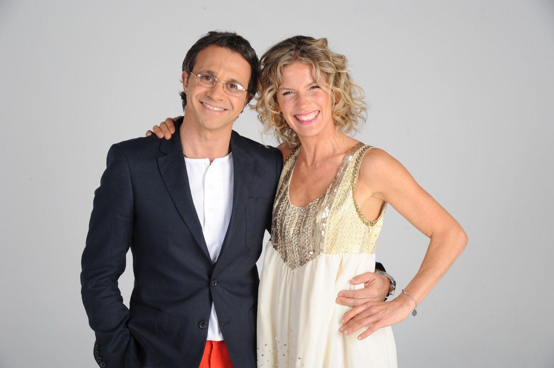Maru y Lapegüe hicieron la foto de su nuevo programa