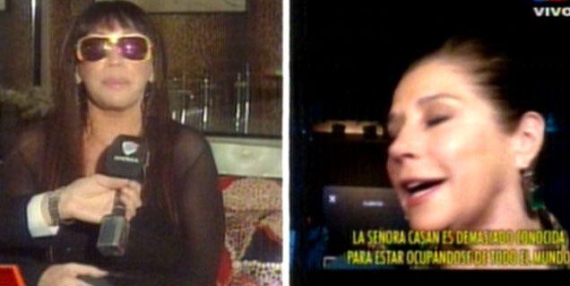 Moria vs. Marcela Tinayre: Está desesperada, levanta chongos en eventos