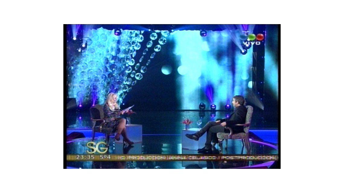 Ricardo Darín estuvo en lo de Susana y presentó su nueva película Séptimo