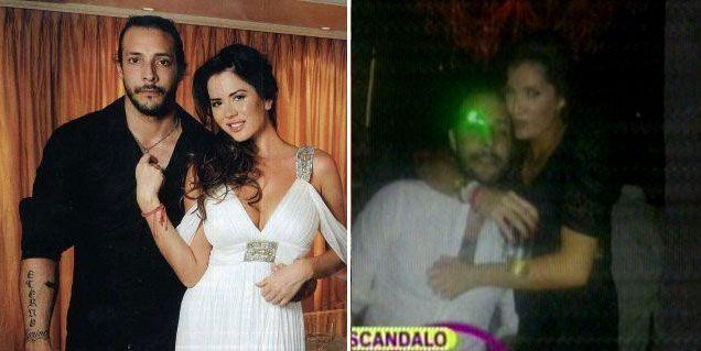 Jelinek echó a Fariña de su casa por fotos con una modelo pero él lo desmiente