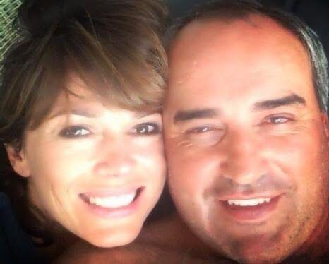 Primera foto de la intimidad de Coki Ramírez y su novio, el Pato Cabrera