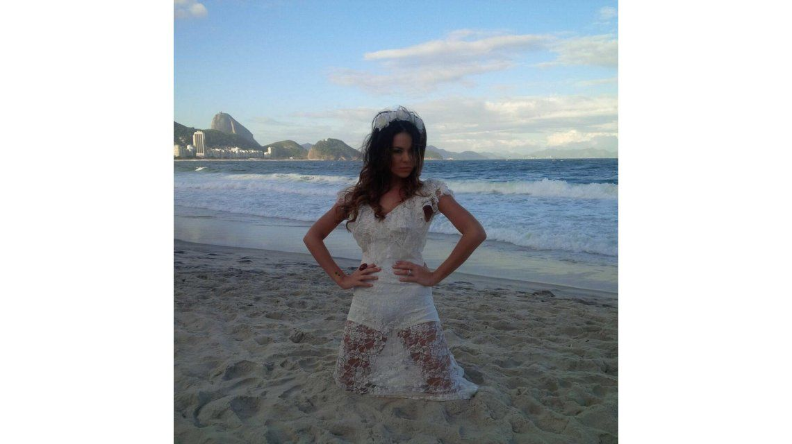 Karina Jelinek viajó a Brasil y compartió las fotos con sus seguidores