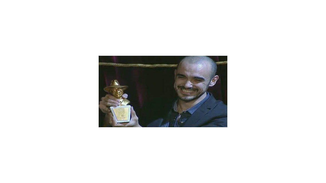 Premios Carlos Gardel 2013: Abel Pintos se llevó el Oro