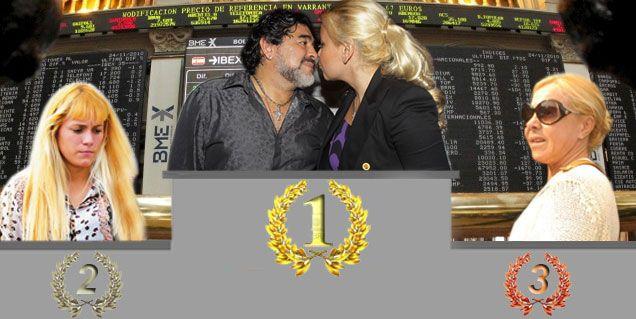 El ranking de las mujeres de Maradona