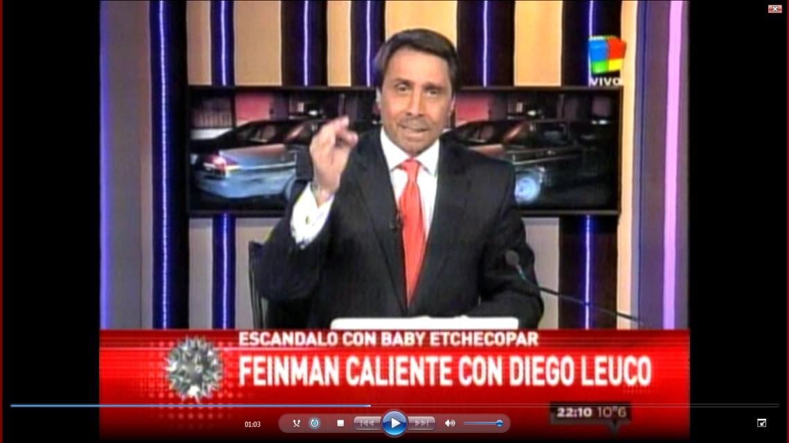 Feinmann se la agarró con Fabbiani y su panelista Diego Leuco: Son una basura