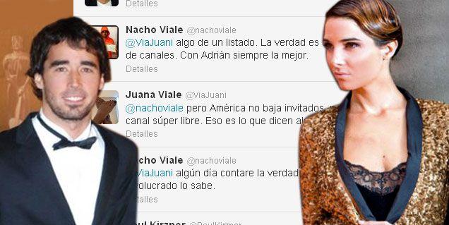Sugestivos tweets de Juanita y Nacho por el polémico almuerzo de Mirtha