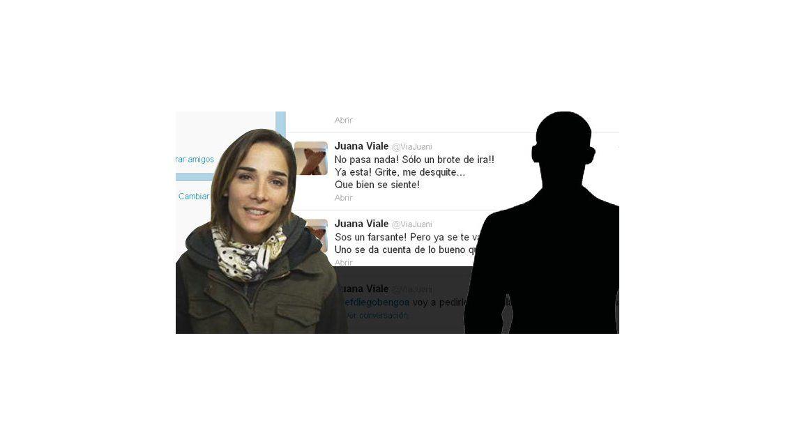 Juana Viale, furiosa en Twitter: Sos un farsante; pero ya se te va a caer la careta
