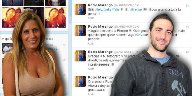 Rocío Marengo en Italia, cerca de Higuaín: Si engancho un nenito lo mantengo