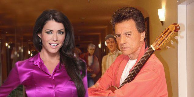 Pamela David vuelve a la televisión y desayuna con Palito Ortega