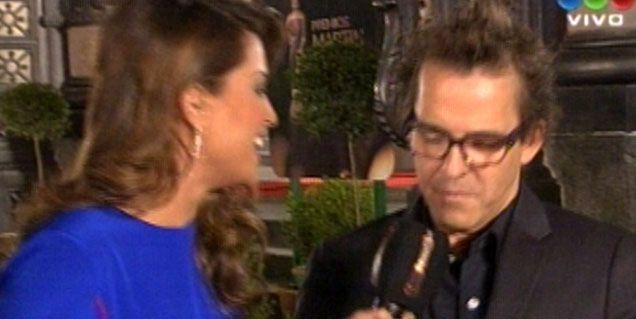 Leo Montero condujo la previa desde la Alfombra Roja: el look de los famosos