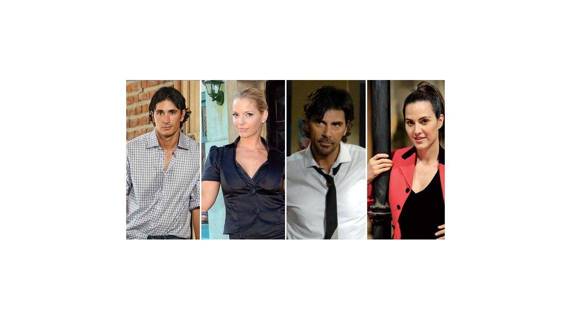 El cuarteto ideal de Quique Estevanez: Sebastián, Zampini, Darthés y Díaz