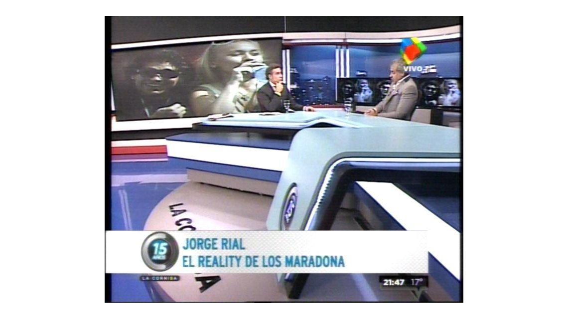 Jorge Rial en su salsa: La vida de Diego Maradona es un escándalo