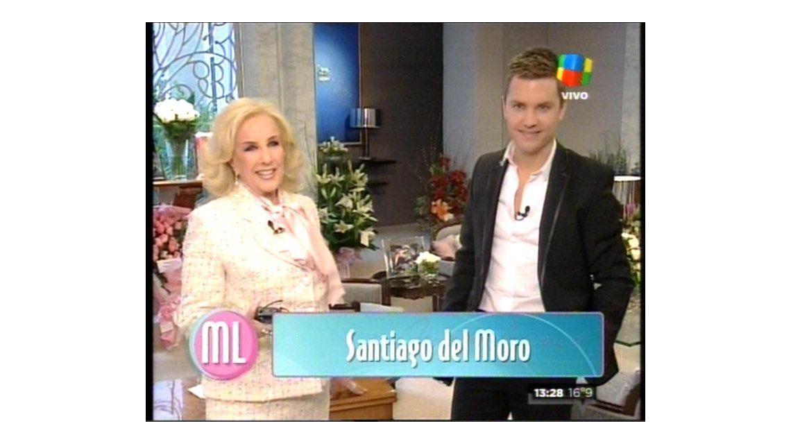Mirtha y Del Moro: tensión e incomodidad