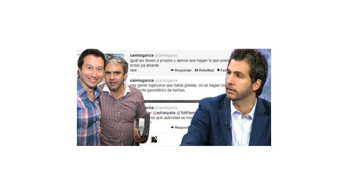Guerra de periodistas: Toti Pasman contra Luis Bremer y Camilo García