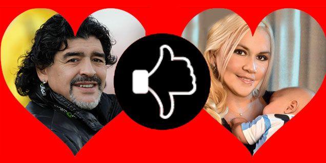 Los temores de Maradona sobre su reconciliación con Verónica Ojeda