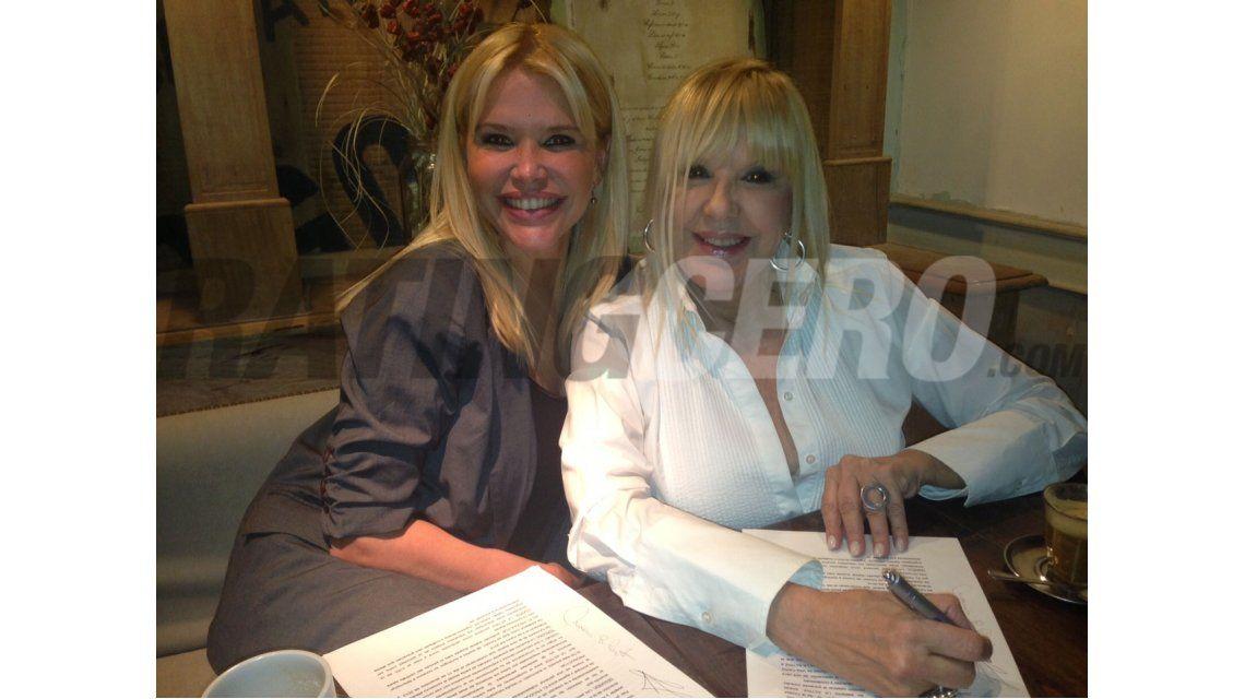 Dorys del Valle firmó con Nazarena Vélez para ser la mamá de Los Grimaldi 2