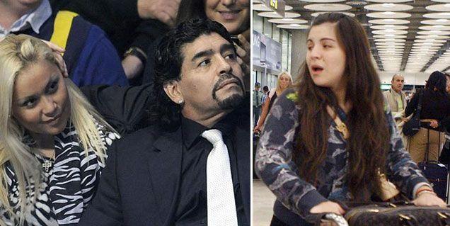 El expediente secreto de la reconciliación de Maradona y Ojeda: el efecto Gianinna