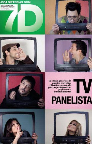 Los panelistas de la televisión, tapa de revista este domingo