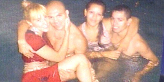 La foto que faltaba: Rocío Oliva, en los brazos de Rodrigo La Hiena Barrios