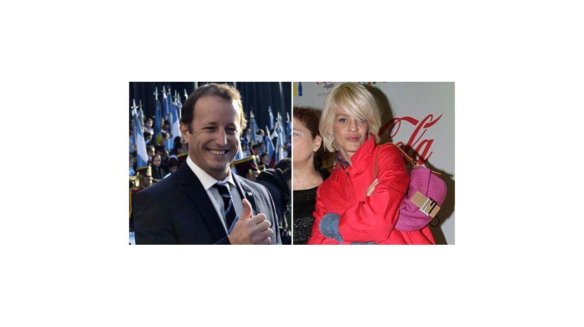 El candidato que prefieren las actrices: Insaurralde avanzado por Brédice