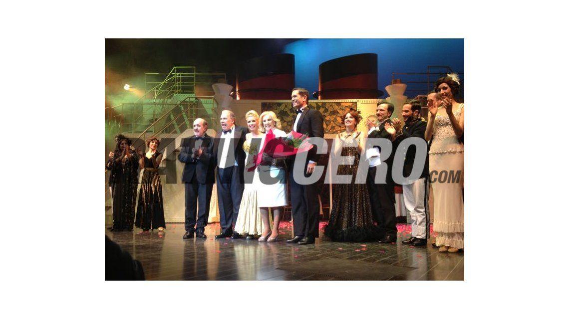 Mirtha Legrand y Florencia Peña: reconciliadas arriba del escenario de Vale todo