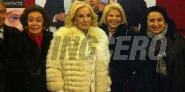Mirtha fue al Nacional a ver Vale todo, la comedia musical de Flor Peña y Pinti