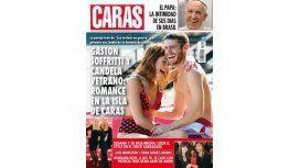 Las románticas fotos de Gastón Soffritti y Candela Vetrano en la Isla de Caras