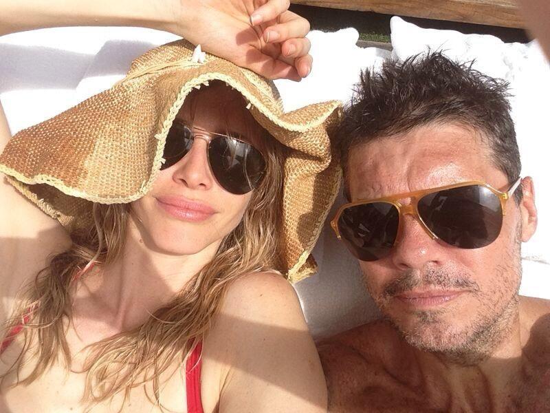 En medio de la polémica, Tinelli y Valdes comparten su amor en Twitter