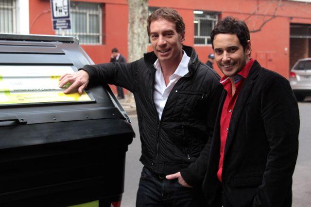 Espectáculo y medioambiente: Lussich y Santilli, a favor del reciclaje de residuos