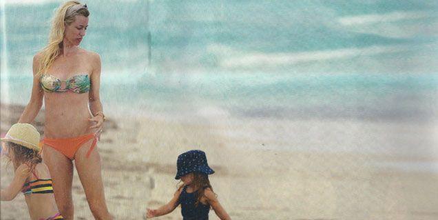 El viaje familiar de Nicole Neumann y Cubero: Vamos a buscar el tercer hijo