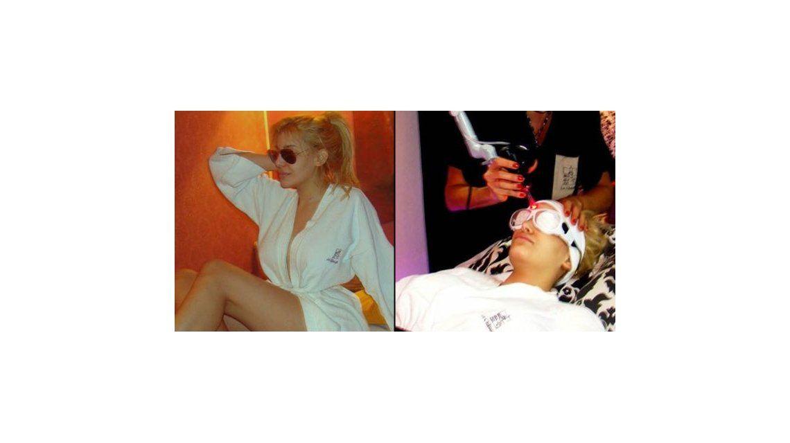 La obsesión de Charlotte no descansa: la rubia fue a un spa a hacerse de todo