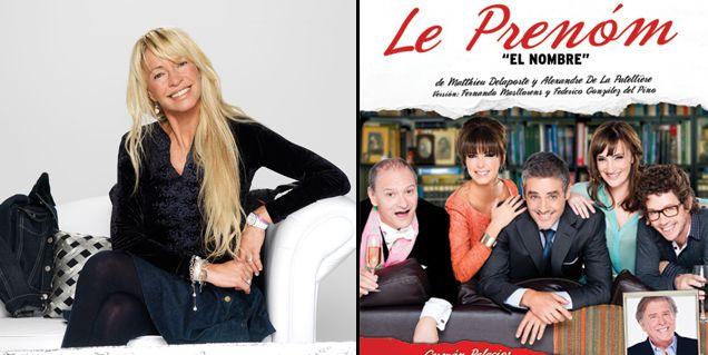 Cris Morena fue a ver Le Prenom, la obra que produce su ex, Gustavo Yankelevich