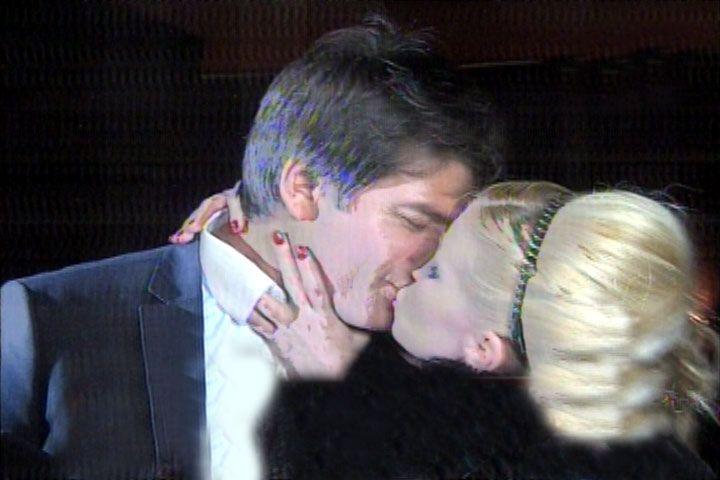 El primer beso de Florencia Peña con su nuevo novio, Ramiro Ponce de León