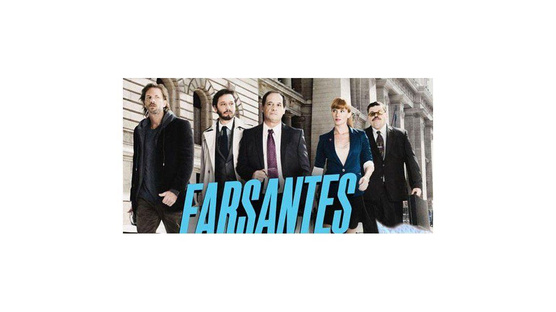 Los ratings del martes a la noche: Farsantes 14.9; Los vecinos en guerra 11.4