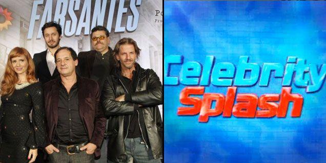 Los ratings de la noche del martes: Farsantes 16.6; Celebrity Splash 13.4