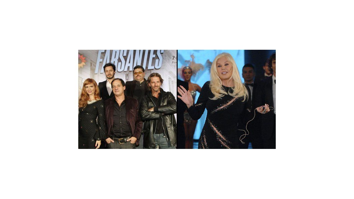 Los ratings de la noche del lunes: Farsantes 15.8; Susana Giménez 13.3