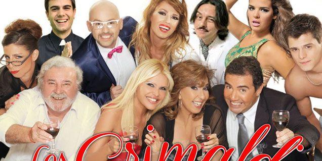 El viernes Nazarena Vélez firma con canal 9 para llevar Los Grimaldi a la tele