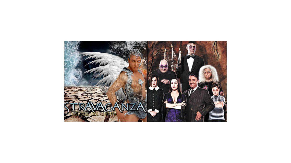 Stravaganza y Los locos Addams dominaron la taquilla porteña