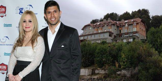 El nido de amor del Kun Agüero y La Princesita en Villa La Angostura