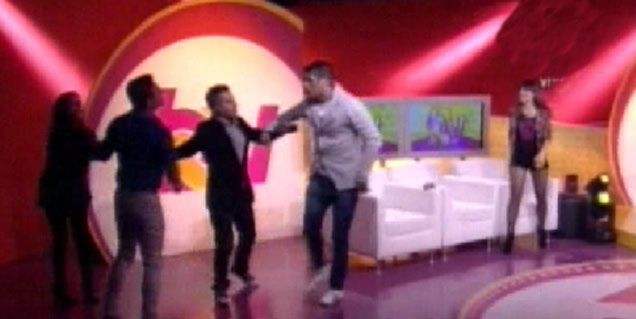 Daniel Gómez Rinaldi y Cristian U casi se agarran a las trompadas en televisión
