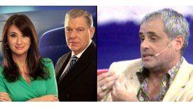 El debate Jorge Rial y su panel por el conflicto entre Biasatti y Santillán