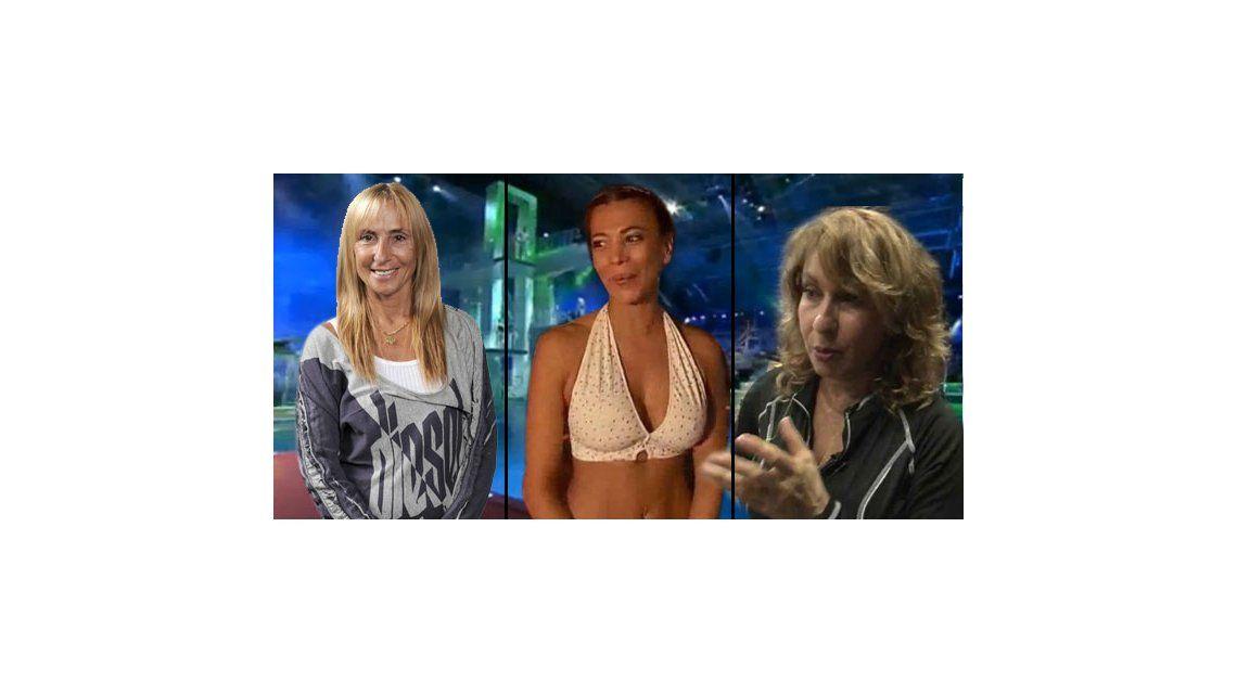 Bagres vs Sirenas en Celebrity Splash: Florimonte dice que ella es sirena