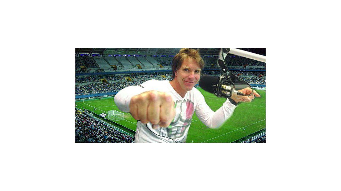 Fantino quiere volver a relatar fútbol: Me encantaría hacerlo en el Mundial