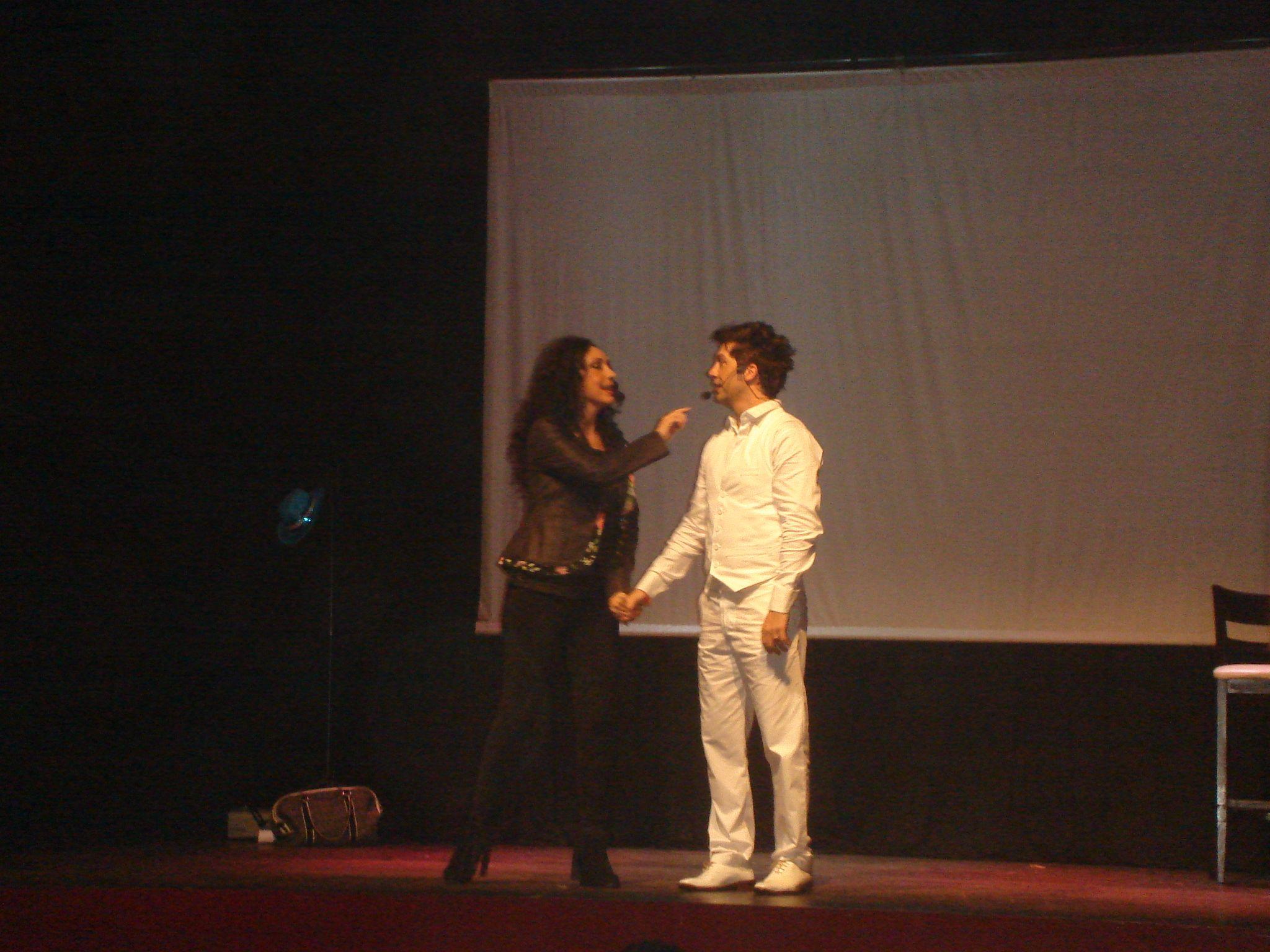 Alberto Olmedo, homenajeado por su hija en el teatro