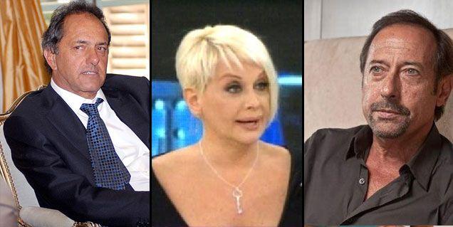 Carmen contó detalles de sus relaciones con Guillermo Francella y Daniel Scioli