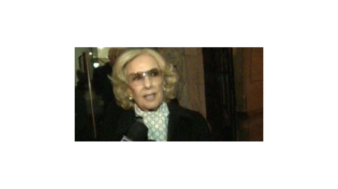 El adiós de Mirtha Legrand a la fiel Elba