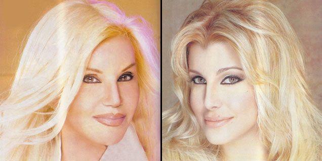 Charlotte quiere ser Susana, pero su cara se parece a la diva hoy, y no de joven