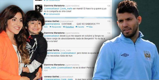 Gianinna Maradona: Desde que me separé que Sergio no se hace cargo del nene