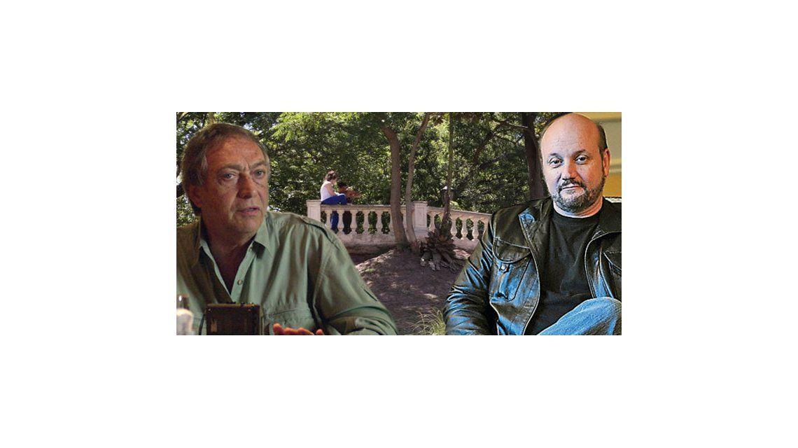 Juan José Campanella y Luis Brandoni ponen en marcha Parque Lezama