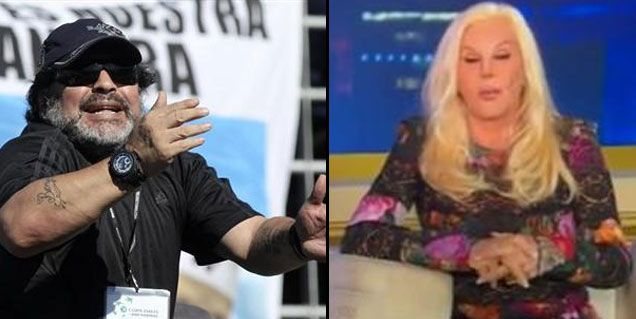 Susana le responde a Maradona: Se cree muy especial y ya no lo es tanto